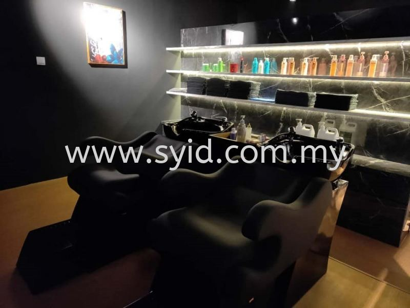 2.0 PROFESSIONAL HAIR STUDIO European style Hair studio design Johor Bahru (JB), Skudai, Taman Universiti Contractor, Service | SY Interior Design & Build