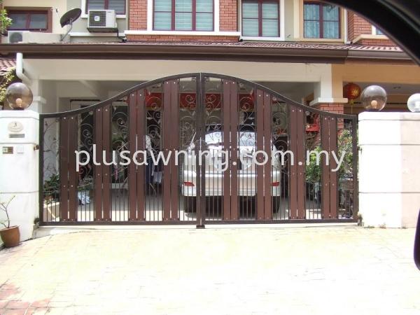 Iron Gate Gate Selangor, Malaysia, Kuala Lumpur (KL), Cheras Contractor, Service | Plus Awning & Iron Sdn Bhd