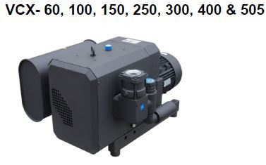 VCX- 60, 100, 150, 250, 300, 400 & 505 VCX- B Series Claw Vacuum Pumps Malaysia, Selangor, Kuala Lumpur (KL), Kajang Supplier, Suppliers, Supply, Supplies | VES Industrial Services Sdn Bhd