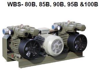WBS - 80B, 85B, 90B, 95B &100B Dry Rotary Vane Pumps - WBS(Dual Pump Modules)  Dry Rotary Vane Vacuum Pumps Malaysia, Selangor, Kuala Lumpur (KL), Kajang Supplier, Suppliers, Supply, Supplies | VES Industrial Services Sdn Bhd
