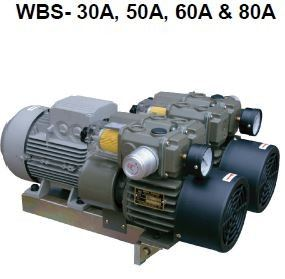 WBS - 30A, 50A, 60A & 80A Dry Rotary Vane Pumps - WBS(Dual Pump Modules)  Dry Rotary Vane Vacuum Pumps Malaysia, Selangor, Kuala Lumpur (KL), Kajang Supplier, Suppliers, Supply, Supplies | VES Industrial Services Sdn Bhd