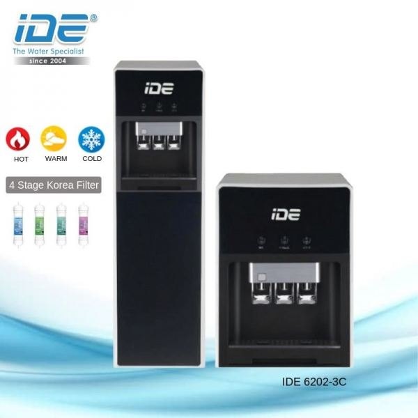 IDE 6202-3C Water Dispenser (Hot&Warm&Cool) Direct Piping Water Dispenser Johor Bahru JB Malaysia Supply, Supplier & Wholesaler | Ideallex Sdn Bhd