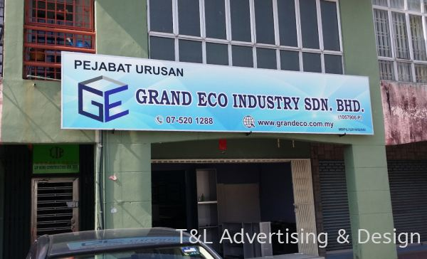 GI Metal Signboard GI / Polycarbonate Signboard Johor Bahru (JB), Malaysia, Skudai Supplier, Supply, Design, Install | T & L Advertising & Design