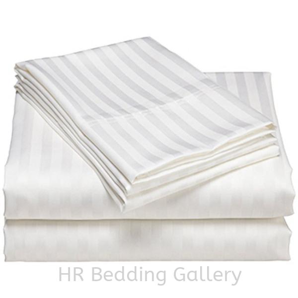 Stripes Flat Sheet  Flat Sheet Hotel Bedding Selangor, Malaysia, Kuala Lumpur (KL), Dengkil Supplier, Suppliers, Supply, Supplies | HR Bedding Gallery