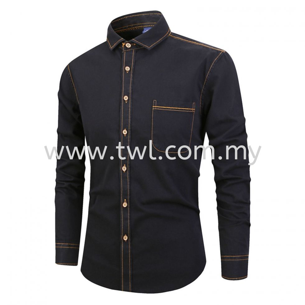 Denim Long Sleeve Uniform