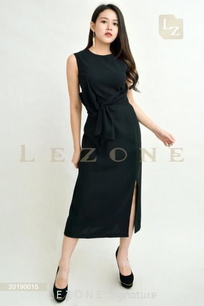 20190015 Midi Sleeveless Dress Sleeveless Dresses D R E S S  Selangor, Kuala Lumpur (KL), Malaysia, Serdang, Puchong  | LE ZONE Signature