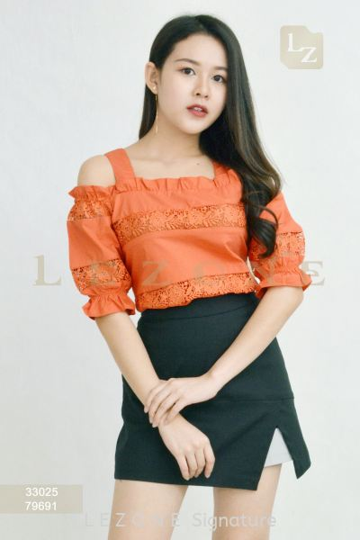 33025 THICK SHOULDER STRAP BLOUSE¡¾2 FOR RM99¡¿ Top On Sale S A L E  Selangor, Kuala Lumpur (KL), Malaysia, Serdang, Puchong, Cheras Supplier, Suppliers, Supply, Supplies | LE ZONE Signature