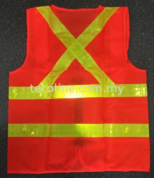 Reflective Safety Vest (Orange) TSB Safety Vest/Harness Selangor, Malaysia, Kuala Lumpur (KL), Puchong Supplier, Suppliers, Supply, Supplies | Tecoline Sdn Bhd