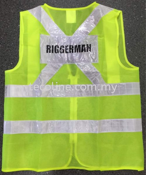 Reflective Safety Vest (Wording) TSB Safety Vest/Harness Selangor, Malaysia, Kuala Lumpur (KL), Puchong Supplier, Suppliers, Supply, Supplies | Tecoline Sdn Bhd