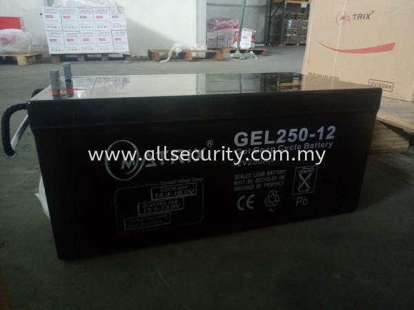 12V250AH GEL LEAD ACID UPS BATTERY  Singapore, Malaysia, Johor, Selangor, Senai Manufacturer, Supplier, Supply, Supplies | AST Automation Pte Ltd