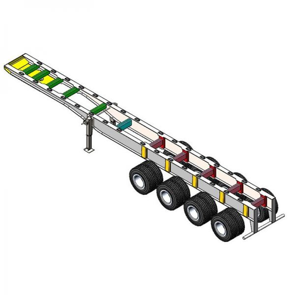 S-Chassis Strenx Chassis Semi Trailer Selangor, Malaysia, Kuala Lumpur (KL), Semenyih Supplier, Suppliers, Supply, Supplies | Armstrong Tipper Sdn Bhd