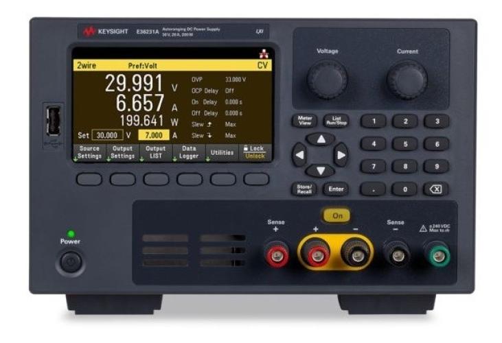 E36234A 400W Autoranging Dual Output Power Supply, 60V, 10A