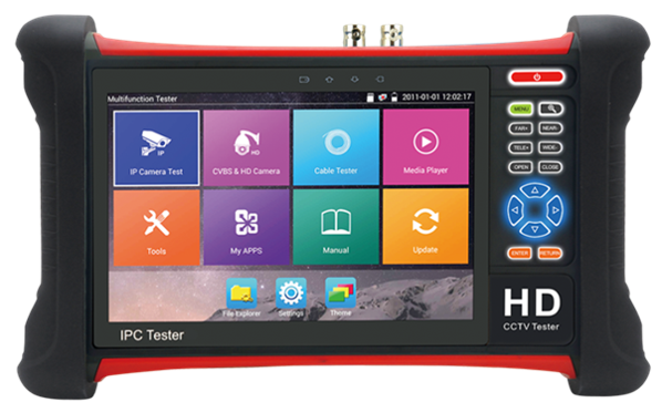 7 inch 5 IN 1 TOUCH SCREEN CCTV TESTER(AZTEST-X7) CCTV Security Tester Miscellaneous Cheras, Kuala Lumpur(KL), Malaysia. Suppliers, Supplies, Supplier, Supply | AZSECU Distribution Sdn Bhd