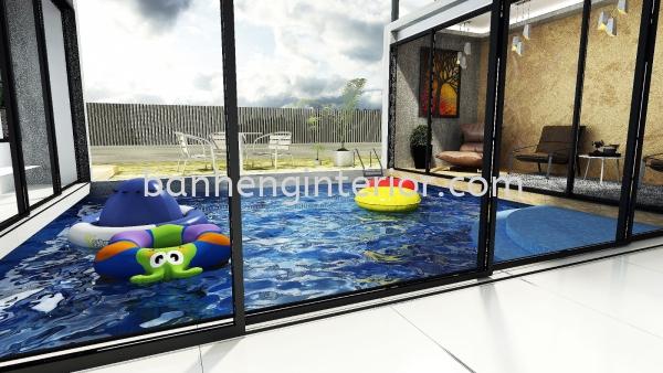 Swimming Pool Design Johor Bahru (JB), Johor, Skudai Service, Renovation, Construction | Ban Heng Interior Design Sdn Bhd