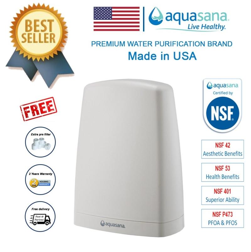 AQUASANA AQ-4000W-DVPI (Latest Model) Water Filter Water Purifier - NSF Certified (2 Years Housing Warranty)