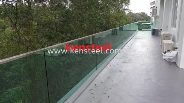 Stainless steel Glass fencing 31 Stainless steel Glass fencing Seri Kembangan, Selangor, Kuala Lumpur, KL, Malaysia. Supplier, Suppliers, Supplies, Supply | Kensteel