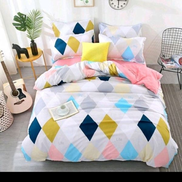 QUEEN 4in1+28cm FITTED SHEET SET-39 4 in 1 Fitted Set King & Queen Bed Sheet Selangor, Malaysia, Kuala Lumpur (KL), Klang Supplier, Manufacturer, Wholesaler, Supply | NXG Marketing