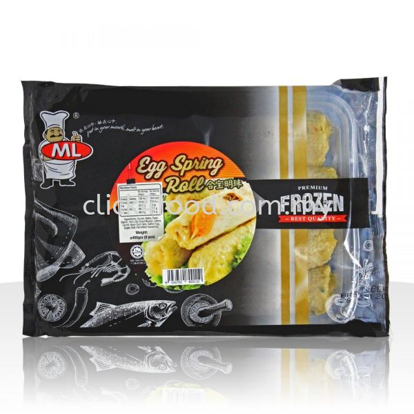 ML Egg Spring Roll (8pcs) Catering Specialize/Fried Food Product Selangor, Malaysia, Kuala Lumpur (KL), Batu Caves Supplier, Delivery, Supply, Supplies   GS Food Online Services