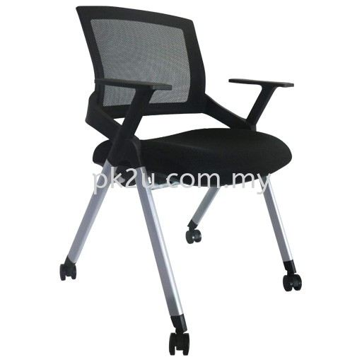 FTC-07 Fabric Training Chair Student & Training Chair Multi Purpose Seating Johor Bahru, JB, Malaysia Manufacturer, Supplier, Supply | PK Furniture System Sdn Bhd