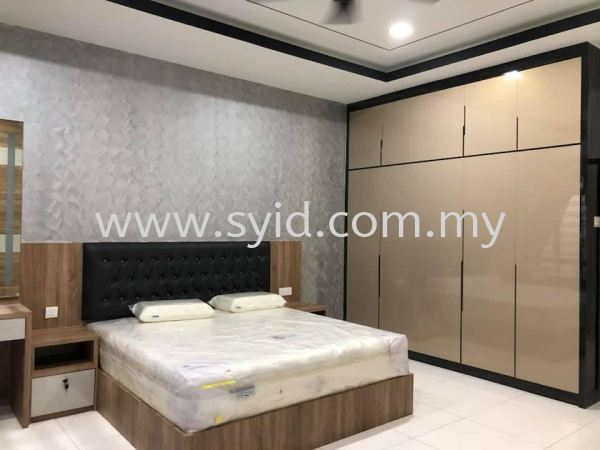 Bedroom Wardrobe Design Johor Bahru (JB), Skudai, Taman Universiti Contractor, Service | SY Interior Design & Build