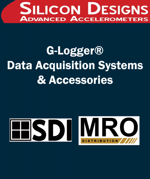 G-Logger® Data Acquisition Systems / Accessories 3-Axis Plug-&-Play DC Accelerometer Modules SILICON DESIGNS Selangor, Malaysia, Kuala Lumpur (KL), Subang Jaya Supplier, Suppliers, Supply, Supplies | MRO Distribution Sdn Bhd