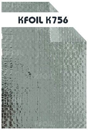 (K756) Double Sided Reflective Aluminium Woven Foil/Film Double Sided Woven Foil Building Insulation Penang  | K Foil Insulation (Malaysia) Sdn Bhd
