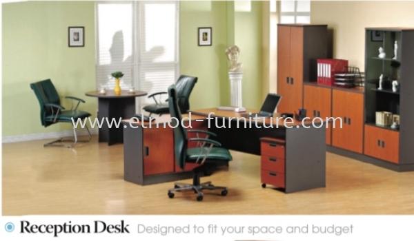 Receptionist Desk A Series  Office Table  Selangor, Kuala Lumpur (KL), Puchong, Malaysia Supplier, Suppliers, Supply, Supplies | Elmod Online Sdn Bhd