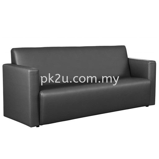 LOS-011-3S-C1- Joint 3 Seater Sofa Sofa & Bench (Leather) Sofa & Lounge Seating Public Seating Johor Bahru, JB, Malaysia Manufacturer, Supplier, Supply | PK Furniture System Sdn Bhd