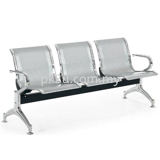 Steel Link Chair Steel Airport Link Chair Visitor Waiting Chair Public Seating Johor Bahru, JB, Malaysia Manufacturer, Supplier, Supply | PK Furniture System Sdn Bhd
