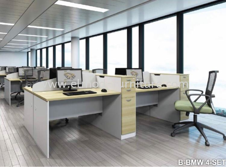 B-BMW 4  Office Workstation  Selangor, Kuala Lumpur (KL), Puchong, Malaysia Supplier, Suppliers, Supply, Supplies | Elmod Online Sdn Bhd