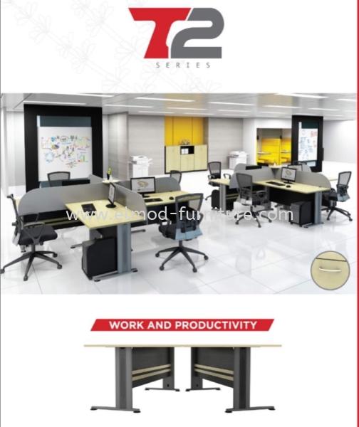 T2 Series Office Table  Selangor, Kuala Lumpur (KL), Puchong, Malaysia Supplier, Suppliers, Supply, Supplies | Elmod Online Sdn Bhd