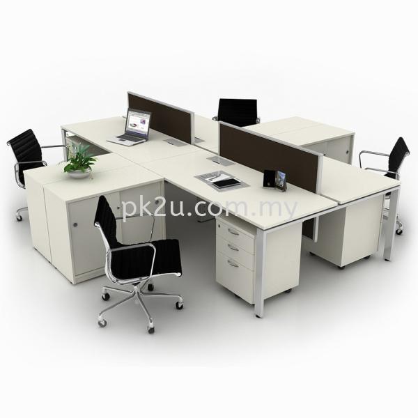 Desking 18 System (18mm THK) Desking 18 System (18mm THK) Desking Panel System Office System Workstation Johor Bahru, JB, Malaysia Manufacturer, Supplier, Supply | PK Furniture System Sdn Bhd