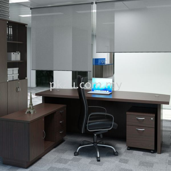 WT-QX-2100-Set Director Table Office Table Johor Bahru, JB, Malaysia Manufacturer, Supplier, Supply | PK Furniture System Sdn Bhd