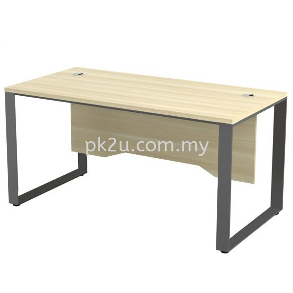 MT-SQWT-187 SQ82-Series Metal Leg Office Table Office Table Johor Bahru, JB, Malaysia Manufacturer, Supplier, Supply | PK Furniture System Sdn Bhd