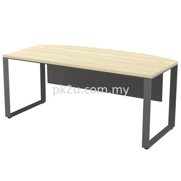 MT-SQMB-180A SQ82-Series Metal Leg Office Table Office Table Johor Bahru, JB, Malaysia Manufacturer, Supplier, Supply | PK Furniture System Sdn Bhd