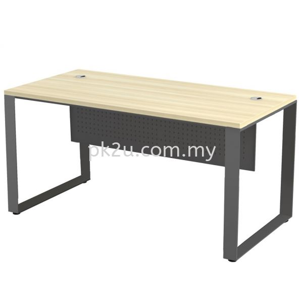 MT-SQMT-187 SQ82-Series Metal Leg Office Table Office Table Johor Bahru, JB, Malaysia Manufacturer, Supplier, Supply | PK Furniture System Sdn Bhd