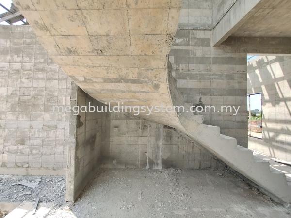 Mega Staircase Malaysia, Kuala Lumpur (KL), Selangor System, Supplier, Supply | Mega Building System Sdn Bhd