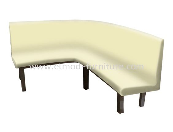 Curve Booth With Backrest Food Court Set Food Court Furniture / Canteen Furniture Selangor, Kuala Lumpur (KL), Puchong, Malaysia Supplier, Suppliers, Supply, Supplies   Elmod Online Sdn Bhd