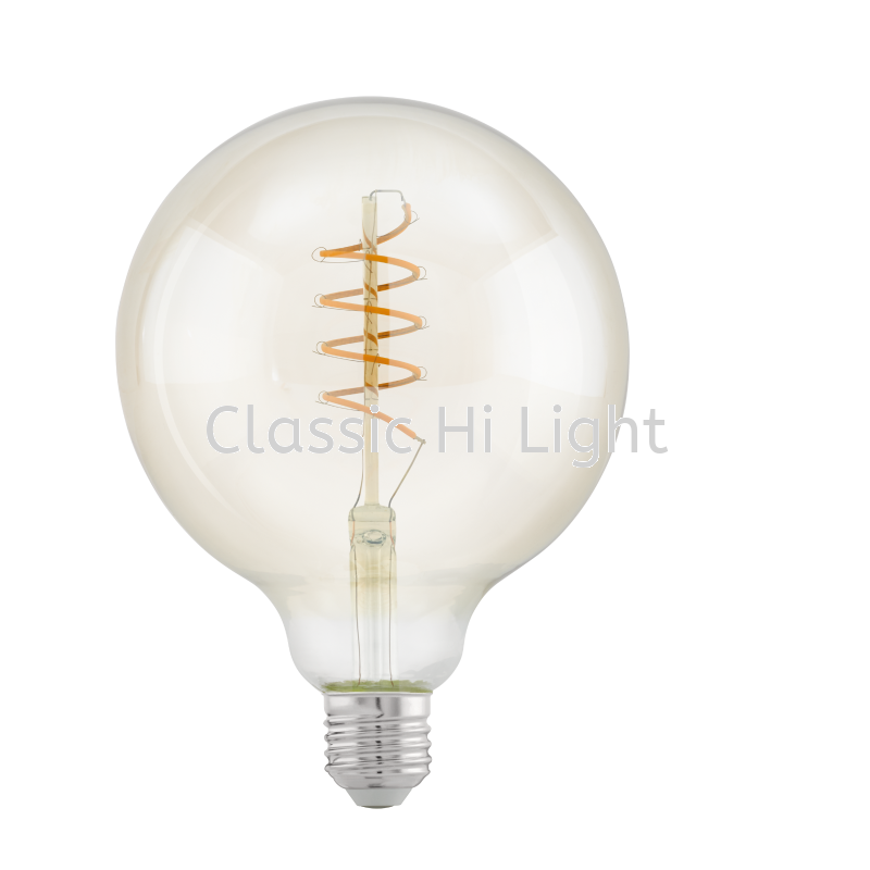 Eglo 11683 Led Filament Bulb G125 Shape 4W E27 2200K