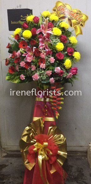 OFA 002 Opening Flower Arrangement Taiping, Perak, Malaysia. Suppliers, Supplies, Supplier, Supply | Irene's Florists De Beaute