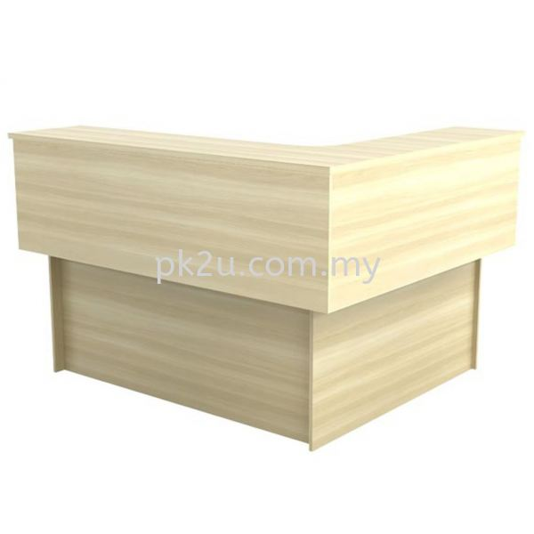 RC-EXCT-1715 Loose Furniture Reception Counter Johor Bahru, JB, Malaysia Manufacturer, Supplier, Supply   PK Furniture System Sdn Bhd