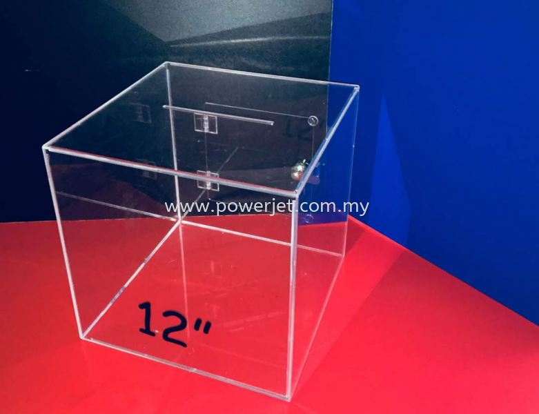 Donation Box  READY-MADE  RRODUCT Puchong, Selangor, Malaysia Supply, Design, Installation | Power Jet Solution Sdn Bhd