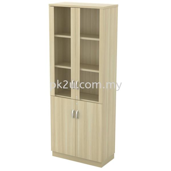 SC-OGD-920 - Swinging Glass Door High Cabinet (2000mm Height) High Filing Cabinet (1710 ~ 2110mm Height) Filing & Storage Johor Bahru, JB, Malaysia Manufacturer, Supplier, Supply | PK Furniture System Sdn Bhd