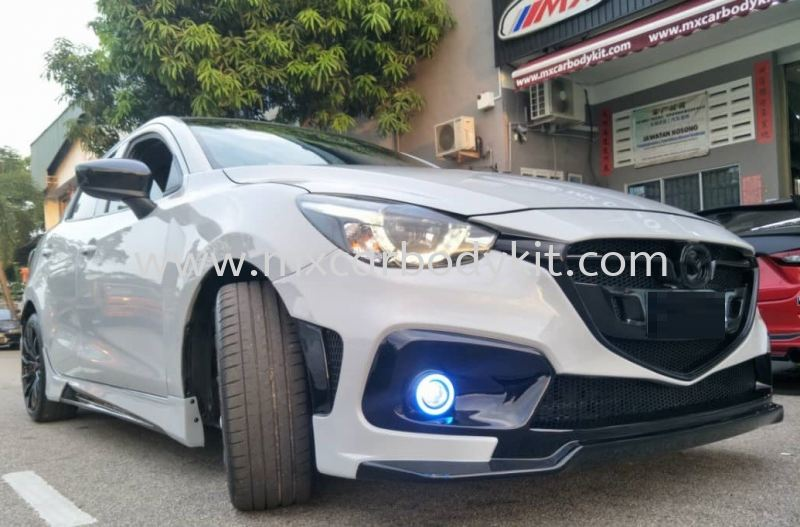 MAZDA 2 SEDAN KNIGHT SPORTS FRONT BUMPER  2 SEDAN  MAZDA Johor, Malaysia, Johor Bahru (JB), Masai. Supplier, Suppliers, Supply, Supplies | MX Car Body Kit