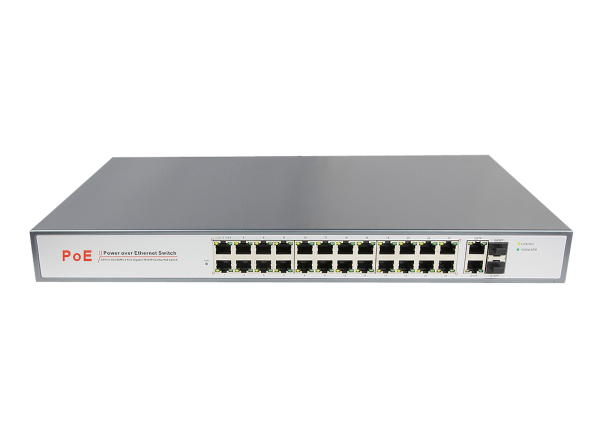 24 Port 10/100M Unmanaged PoE Switch (AZSW24HP-C2G2S) Unmanaged PoE Switch Network Switches Cheras, Kuala Lumpur(KL), Malaysia. Suppliers, Supplies, Supplier, Supply | AZSECU Distribution Sdn Bhd