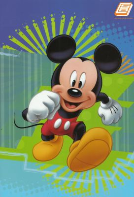Campap - A4 Mickey Mouse Exercise book 70gsm, 80pages - (MK 24610-1)