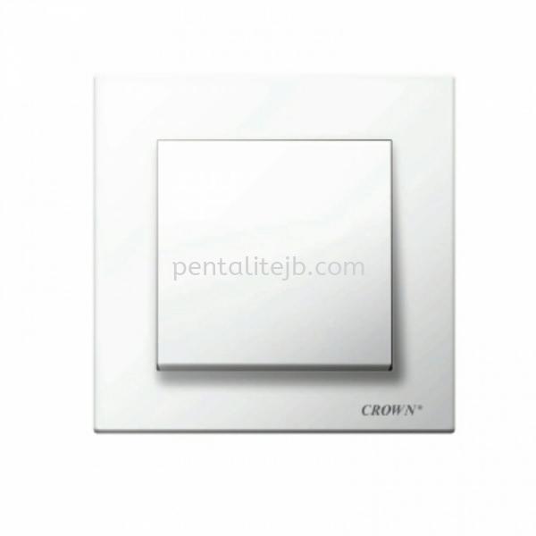 CE8011B 1G 1W / CE8012B 1G 2W Flush Switch  CROWN (CE-SERIES) Switch/Socket Johor Bahru, JB, Johor Jaya, Johor. Supplier, Suppliers, Supply, Supplies | Pentalite Electrical Sdn Bhd