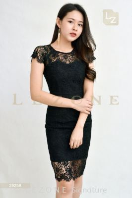 28258 LACE OVERLAY DRESS��1st 35% 2nd 45% 3rd 55%��
