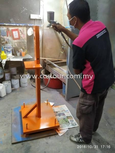 Machinery Paint Selangor, Malaysia, Kuala Lumpur (KL), Seri Kembangan Services   Infino Global Sdn Bhd