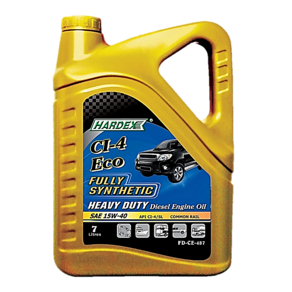 Hardex CI-4 Eco SAE 15W-40 7L FULLY SYNTHETIC LIGHT & HEAVY DUTY DIESEL ENGINE OIL LUBRICANT PRODUCTS Pahang, Malaysia, Kuantan Manufacturer, Supplier, Distributor, Supply | Hardex Corporation Sdn Bhd